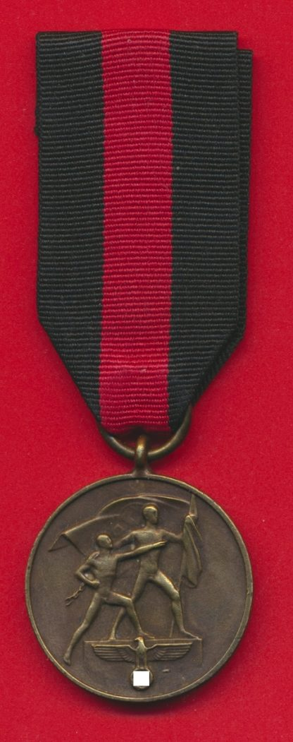 medaille-allemande-sudetes-oktober-1938