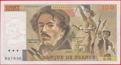 100-francs-delacroix-1984-7930