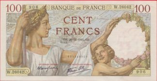 100-francs-sully-20-11-1941-9906