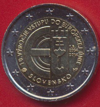 2-euro-slovaquie-10-anniversaire-adhesion-ue-2014