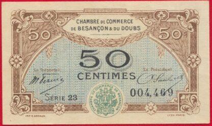 billet-necessite-chambre-commerce-50-centimes-cinquante-doubs-besancon-