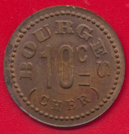 bourges-1916-cooperative-tivoli-10-centimes-vs