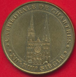 medaille-monnaie-paris-cathedrale-chartres-2000