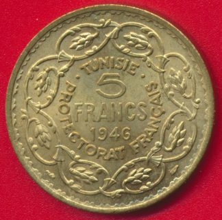 tunisie-protectorat-francais-5-francs-1946-vs