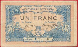 billet-necessite-chambre-commerce-un-franc-valence-drome-2056