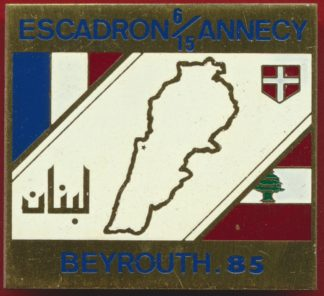nsigne-beyrouth-observateur-france-escadron-annecy-1985