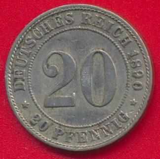 allemagne-20-pfennig-1890-j