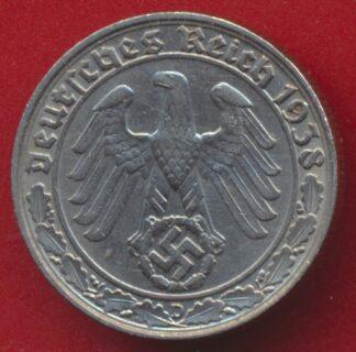 allemagne-50-reichspfennig-1938-d-vs