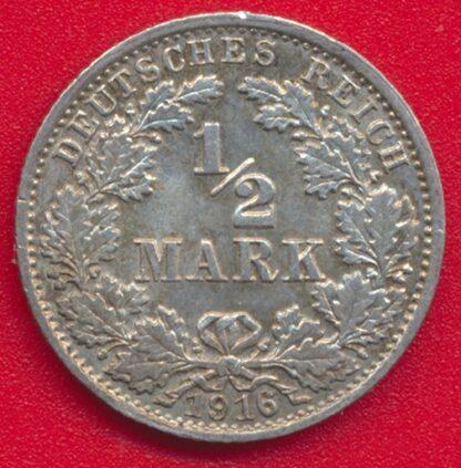 allemagne-demi-mark-1916-g