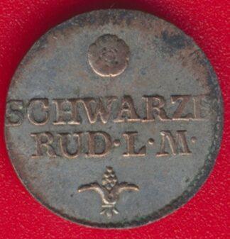 allemagne-shwarzburg-rudolstadt-6-pfennige-1812-vs