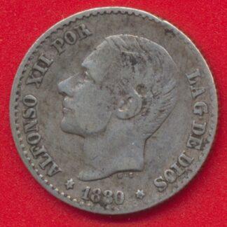 espagne-50-centesimos-1880-vs
