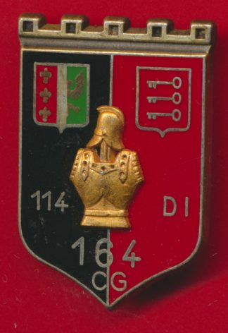insigne-164-compagnie-genie-114-division-infanterie