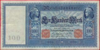 allemagne-100-mark-1909-0358