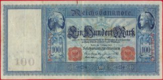 allemagne-100-mark-7-february-1908