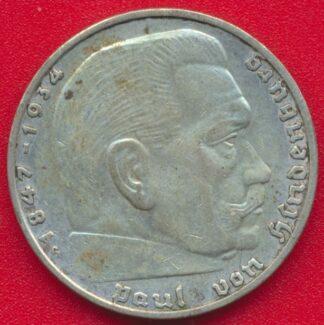 allemagne-2-reichsmark-1936-g-vs
