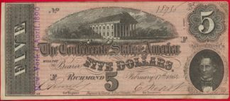 etats-unis-united-states-richmond-five-8936-dollars