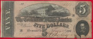 etats-unis-united-states-richmond-five-dollars-6099-virginie