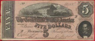 etats-unis-united-states-richmond-five-dollars-8908-virginie