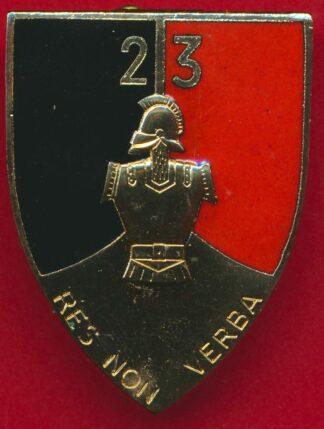 insigne-genie-23-regiment