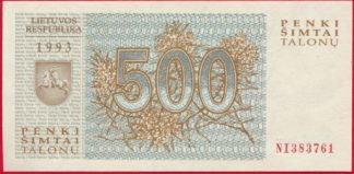 lituanie-500-talonas-1993-3761