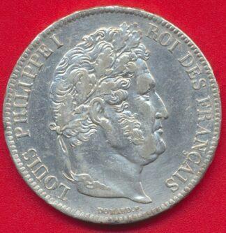 louis-philippe-5-francs-1837-rouen-vs