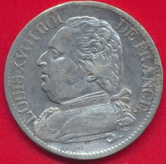 louis-xviii-5-francs-1814-toulouse