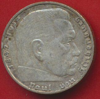 allemagne-2-reichsmark-1937-f-vs