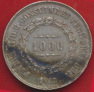 bresil-1000-reis-1860-vs