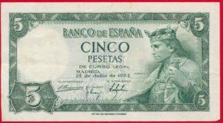 espagne-5-cinco-peseta-1954-4105