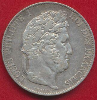 louis-philippe-5-francs-1845-w-lille-vs