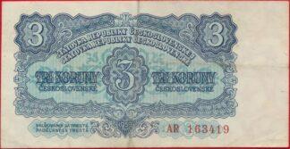 tchecoslovaquie-3-koruny-1953-3419