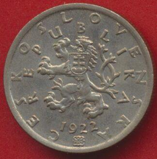 tchecoslovaquie-50-haleru-1922