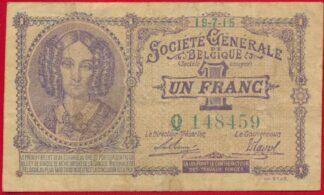 belgique-un-franc-19-7-1915-8459