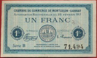 chambre-commerce-montlucon-gannat-1917-franc-1494
