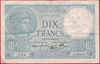 10-francs-minerve-5-3-1942-5510
