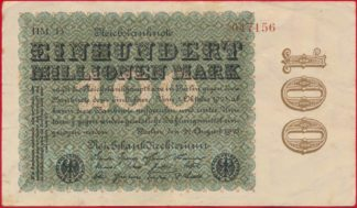allemagne-100-million-mark-22-august-1923-7156