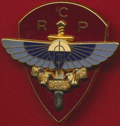 insigne-3-regiment-chasseurs-parachutistes-rcp