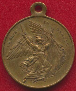 medaille-patrie-danger-decheance-empereur-proclamation-republmedaille-patrie-danger-decheance-empereur-proclamation-republique-septembre-1870ique-septembre-1870