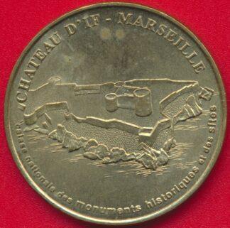 monnaie-paris-marseille-chateau-if-1999