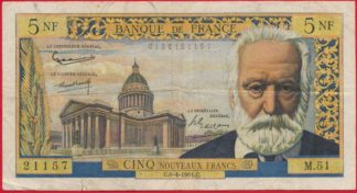 5-nf-francs-victor-hugo-6-4-1961-1157