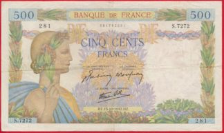 500-francs-type-paix-15-10-1942-7272