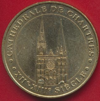 monnaie-paris-cathedrale-chartres-2000
