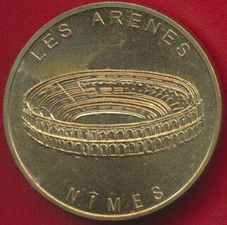 monnaie-paris-nimes-arenes-1998