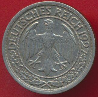 allemagne-50-reichspfennig-1927-g