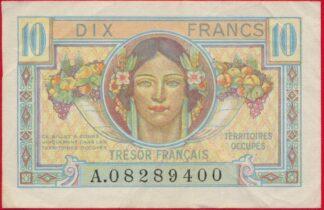 10-francs-territoires-occupes-tresor-francais-9400