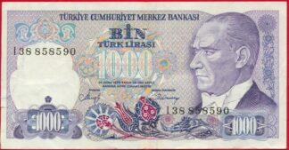 turquie-1000-lira-1970-8590