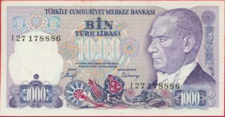 turquie-1000-lira-1970-8886