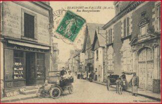 cpa-beaufort-en-valle-rue-bourguillaume