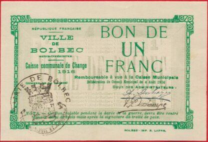 bolbec-caisse-communale-un-1-franc-1916