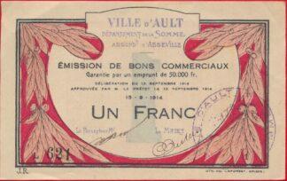 bon-commerciaux-ault-1914-franc